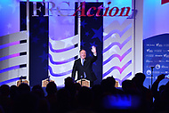 Washington, DC - September 21, 2018: U.S. Secretary of State Michael Pompeo addresses attendees of the Values Voter Summit hosted by the Family Research Council at the Omni Shoreham Hotel in Washington, D.C. September 21, 2018.  (Photo by Don Baxter/Media Images International)