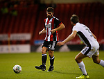 Ched Evans of Sheffield Utd during the Carabao Cup First Round match at Bramall Lane Stadium, Sheffield. Picture date: August 9th 2017. Pic credit should read: Simon Bellis/Sportimage