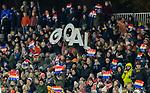 AMSTELVEEN - Goal  tijdens de hockeyinterland Nederland-Ierland (7-1) , naar aanloop van het WK hockey in India.  COPYRIGHT KOEN SUYK