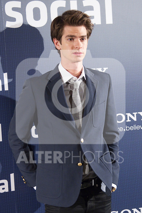 attends 'The Social Network' photocall at the Villamagna Hotel on October 6, 2010 in Madrid, Spain...Photo: Cesar Cebolla / ALFAQUI