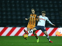 Preston North End's Ryan Ledson and Hull City's Kamil Grosicki<br /> <br /> Photographer Stephen White/CameraSport<br /> <br /> The EFL Sky Bet Championship - Preston North End v Hull City - Wednesday 26th December 2018 - Deepdale Stadium - Preston<br /> <br /> World Copyright &copy; 2018 CameraSport. All rights reserved. 43 Linden Ave. Countesthorpe. Leicester. England. LE8 5PG - Tel: +44 (0) 116 277 4147 - admin@camerasport.com - www.camerasport.com