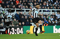 Jamaal Lascelles of Newcastle United during Newcastle United vs Manchester United, Premier League Football at St. James' Park on 11th February 2018