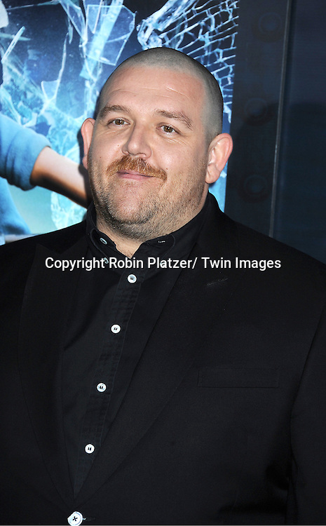 """actor Nick Frost attends The US Premiere of """" The Adventures of TinTin""""..on December 11, 2011 at The Ziegfeld Theatre in New York City."""