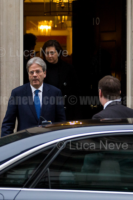 Italian Prime Minister, Paolo Gentiloni.<br />