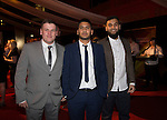 Wales Sport Awards 2013<br /> Leigh Williams, Nazrul Aslam & Enam Hoque.<br /> 09.11.13<br /> ©Steve Pope-SPORTINGWALES