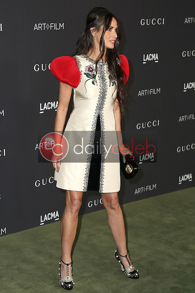 Demi Moore<br /> at the 2016 LACMA Art +  Film Gala, LACMA, Los Angeles, CA 10-29-16<br /> David Edwards/DailyCeleb.com 818-249-4998