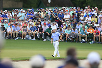 Justin Thomas (USA) on the 2nd green during the 2nd round at the The Masters , Augusta National, Augusta, Georgia, USA. 12/04/2019.<br /> Picture Fran Caffrey / Golffile.ie<br /> <br /> All photo usage must carry mandatory copyright credit (© Golffile | Fran Caffrey)