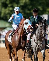 October 06 2018 : Bucchero with Fernando De La Cruz wins the Woodford Stakes at Keeneland Racecourse on October 06, 2018 in Lexington, Kentucky. Evers/ESW/CSM
