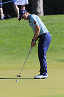 Paul Dunne (IRL) putts on the 3rd green during Saturday's Round 3 of the 2018 Turkish Airlines Open hosted by Regnum Carya Golf &amp; Spa Resort, Antalya, Turkey. 3rd November 2018.<br /> Picture: Eoin Clarke | Golffile<br /> <br /> <br /> All photos usage must carry mandatory copyright credit (&copy; Golffile | Eoin Clarke)