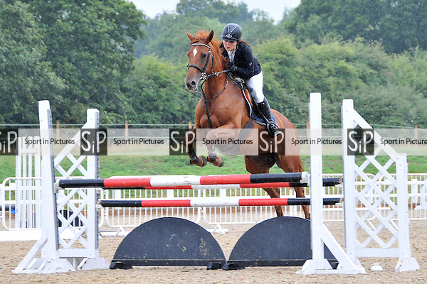 Class 2. Senior Discovery Championship. Outdoor Seniors Showjumping. Brook Farm Training Centre. Essex. 24/07/2015. MANDATORY Credit Ellen Szalai/Sportinpictures - NO UNAUTHORISED USE - 07837 394578