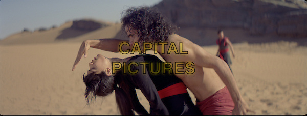 Frieda Pinto, Reece Ritchie <br /> in Desert Dancer (2014) <br /> *Filmstill - Editorial Use Only*<br /> CAP/NFS<br /> Image supplied by Capital Pictures