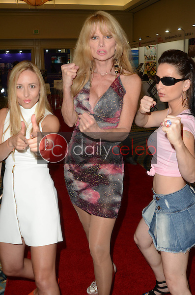 "Olya Lvova, Laurene Landon, Silke Kindle<br /> at the ""Syndicate Smasher"" Cast Appearance at the American Film Market, Lowe's Hotel, Santa Monica, CA 11-05-16<br /> David Edwards/DailyCeleb.com 818-249-4998"
