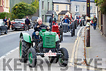 The Parade of vintage Tractors at the Blennerville Treshing Festival on Sunday.