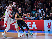 22nd March 2018, Aleksandar Nikolic Hall, Belgrade, Serbia; Turkish Airlines Euroleague Basketball, Crvena Zvezda mts Belgrade versus Fenerbahce Dogus Istanbul; Guard Kostas Sloukas of Fenerbahce Dogus Istanbul drives with the ball