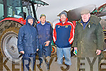 BREAK: having a break from the ploughing at the Abbeydorney ploughing competition on Sunday l-r: Willie Stokes, Michael O'Halloran, Ger O'Carroll and Tom O'Mahony (Abbeydorney).