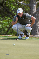 Rory McIlroy (NIR) looks over his putt on 2 during day 2 of the WGC Dell Match Play, at the Austin Country Club, Austin, Texas, USA. 3/28/2019.<br /> Picture: Golffile | Ken Murray<br /> <br /> <br /> All photo usage must carry mandatory copyright credit (© Golffile | Ken Murray)