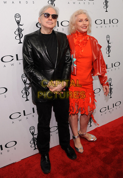 New York, NY- October 1:Chris Stein and  Debbie Harry from Blondie attend the 2014 CLIO Awards on October 1, 2014 at Cipriani Wall Street in New York City.   <br /> CAP/RTNSTV<br /> &copy;RTNSTV/MPI/Capital Pictures