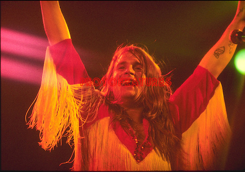 Black Sabbath 1973 Ozzy Osbourne..© Chris Walter....