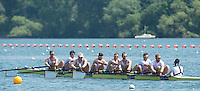 Caversham, Nr Reading, Berkshire.<br /> <br /> GBR M8+. Bow. Scott DURANT, Tom RANSLEY, Andy TRIGGS HODGE, Matt GOTREL, Matt LANGRIDGE, Paul BENNETT, Peter REED, Will SATCH and Cox Phelan HILL.                               Olympic Rowing Team Announcement morning training before the Press conference at the RRM. Henley.<br /> <br /> Thursday  09.06.2016<br /> <br /> [Mandatory Credit: Peter SPURRIER/Intersport Images]