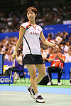 Shizuka Uchida (JPN), SEPTEMBER 21, 2013 - Badminton : Yonex Open Japan 2013 Women's Singles semi-fainal at Tokyo Metropolitan Gymnasium, Tokyo, Japan. (Photo by AFLO SPORT) [1156]