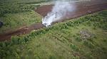Moorbrand in Höhe Nutrafarm Vechta