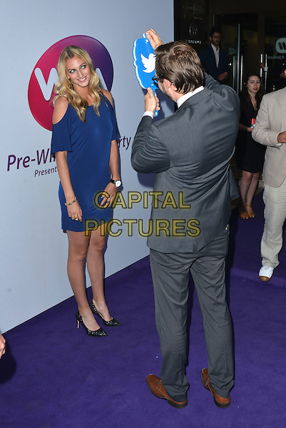 Petra Kvitova<br /> attending the WTA Pre-Wimbledon Party at  The Roof Gardens, Kensington, London England 25th June 2015.<br /> CAP/PL<br /> &copy;Phil Loftus/Capital Pictures
