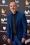 Javier Gutierrez attends red carpet of Feroz Awards 2018 at Magarinos Complex in Madrid, Spain. January 22, 2018. (ALTERPHOTOS/Borja B.Hojas)