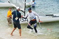 AR_08162016_RIO_PREOLYMPICS_0122.ARW  © Amory Ross / US Sailing Team.  RIO DE JENEIRO - BRAZIL. August 16, 2016. Day 9 of racing at the Olympics.