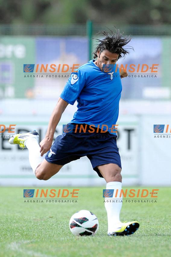 Sergio Floccari.Auronzo di Cadore 23/7/2012.Football Calcio 2012 / 2013 .Allenamento.Foto Insidefoto.