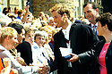 23/06/2005         Copyright Pic : James Stewart.File Name : sct_jspa10 wills graduation.PRINCE WILLIAM GREETS THE CROWDS AFTER HIS GRADUATION FROM ST ANDREWS UNIVERSITY......Payments to :.James Stewart Photo Agency 19 Carronlea Drive, Falkirk. FK2 8DN      Vat Reg No. 607 6932 25.Office     : +44 (0)1324 570906     .Mobile   : +44 (0)7721 416997.Fax         : +44 (0)1324 570906.E-mail  :  jim@jspa.co.uk.If you require further information then contact Jim Stewart on any of the numbers above.........