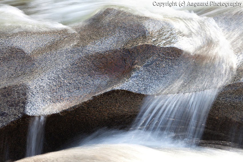 Water-smoothed boulders, Roaring Fork River, near Aspen