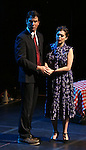 """Jerry O' Connell and Rachel Bloom during the Manhattan Concert Productions 25th Anniversary concert performance of """"Crazy for You"""" at David Geffen Hall, Lincoln Center on February 19, 2017 in New York City."""