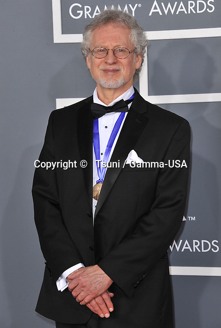 Steven halpern at  the 55th Ann. Grammy Awards 2013 at the Staples Center in Los Angeles.