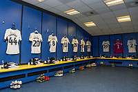 Inside of Swansea City dressing room during the Sky Bet Championship match between Cardiff City and Swansea City at the Cardiff City Stadium in Swansea, Wales, UK.  Sunday 12 January 2019