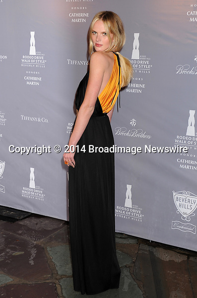 Pictured: Anne V<br /> Mandatory Credit &copy; Gilbert Flores/Broadimage<br /> 2014 Rodeo Drive Walk of Style<br /> <br /> 2/28/14, Beverly Hills, California, United States of America<br /> <br /> Broadimage Newswire<br /> Los Angeles 1+  (310) 301-1027<br /> New York      1+  (646) 827-9134<br /> sales@broadimage.com<br /> http://www.broadimage.com