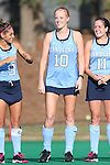 09 October 2015: North Carolina's Nina Notman (GER). The University of North Carolina Tar Heels hosted the Longwood University Lancers at Francis E. Henry Stadium in Chapel Hill, North Carolina in a 2015 NCAA Division I Field Hockey match. UNC won the game 8-1.