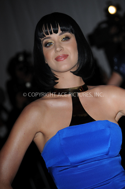 WWW.ACEPIXS.COM . . . . . ....May 4 2009, New York City....Katy Perry arriving at 'The Model as Muse: Embodying Fashion' Costume Institute Gala at The Metropolitan Museum of Art on May 4, 2009 in New York City....Please byline: KRISTIN CALLAHAN - ACEPIXS.COM.. . . . . . ..Ace Pictures, Inc:  ..(212) 243-8787 or (646) 679 0430..e-mail: picturedesk@acepixs.com..web: http://www.acepixs.com