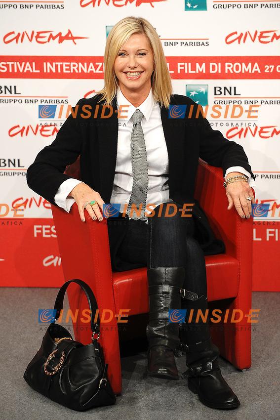 """Olivia Newton John.""""A few best men"""".Roma 28/10/2011 Auditorium.Festival Internazionale del Film di Roma.Foto Andrea Staccioli Insidefoto"""