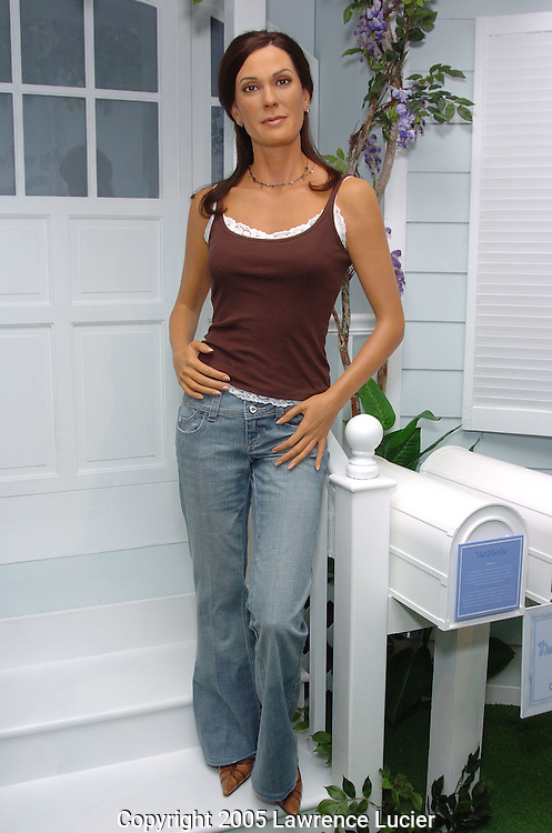 The wax figure of Teri Hatcher