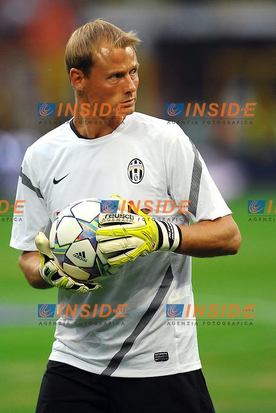 "Alex MANNINGER Juventus.Milano 21/8/2011 Stadio ""Giuseppe Meazza San Siro"".Trofeo ""Luigi Berlusconi"".Calcio Football - Milan Vs Juventus .Foto Insidefoto Andrea Staccioli"
