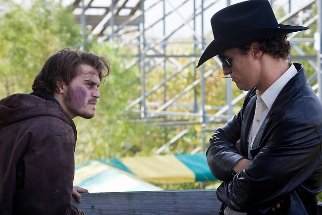 "Emile Hirsch and Matthew McConaughey in ""Killer Joe"" directed by William Friedkin."