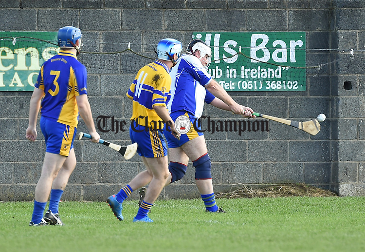 Donal Marron of The Banner during their Junior C hurling final in Newmarket. Photograph by John Kelly.