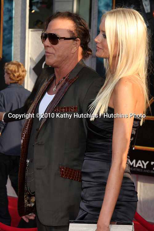 "Mickey Rourke.arrives at  the ""Iron Man 2"" Premiere.El Capitan Theater.Los Angeles, CA.April 26, 2010.©2010 Kathy Hutchins / Hutchins Photo..."