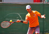Austria, Kitzbuhel, Juli 15, 2015, Tennis, Davis Cup, Training Dutch team, Jean-Julien Rojer<br /> Photo: Tennisimages/Henk Koster