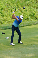 Jordan Spieth (USA) tees off on the 8th hole during the final round of the 100th PGA Championship at Bellerive Country Club, St. Louis, Missouri, USA. 8/12/2018.<br /> Picture: Golffile.ie   Brian Spurlock<br /> <br /> All photo usage must carry mandatory copyright credit (© Golffile   Brian Spurlock)