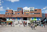 Stadshart van Almere met winkels