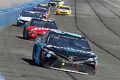 Erik Jones, Joe Gibbs Racing, Toyota Camry Sirius XM and Kurt Busch, Stewart-Haas Racing, Ford Fusion Haas Automation/Monster Energy
