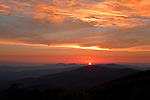Summer sunrise, as viewed from Jane Bald