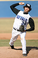 April 5, 2009:  /sp/ Pierre Miville-Deschenes (36) of the University of Buffalo Bulls during a game at Amherst Audubon Field in Buffalo, NY.  Photo by:  Mike Janes/Four Seam Images