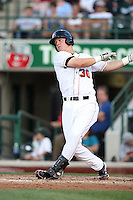 Great Lakes Loons Jerry Sands during the Midwest League All Star Game at Parkview Field in Fort Wayne, IN. June 22, 2010. Photo By Chris Proctor/Four Seam Images